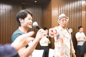 アジア・リクルート会の幹事、家田佳明さん(写真左)と、メンターの小畑重和さん(写真右)