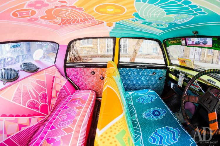 Taxi Fabric