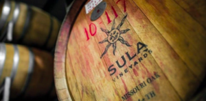 photo by Sula Vineyards Pvt Ltd   この太陽のマークがスーラのシンボルです。