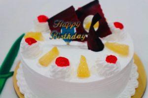 Birthdayのケーキ