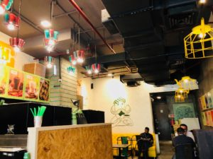 Chaayosの店内