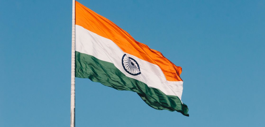 インド 旗